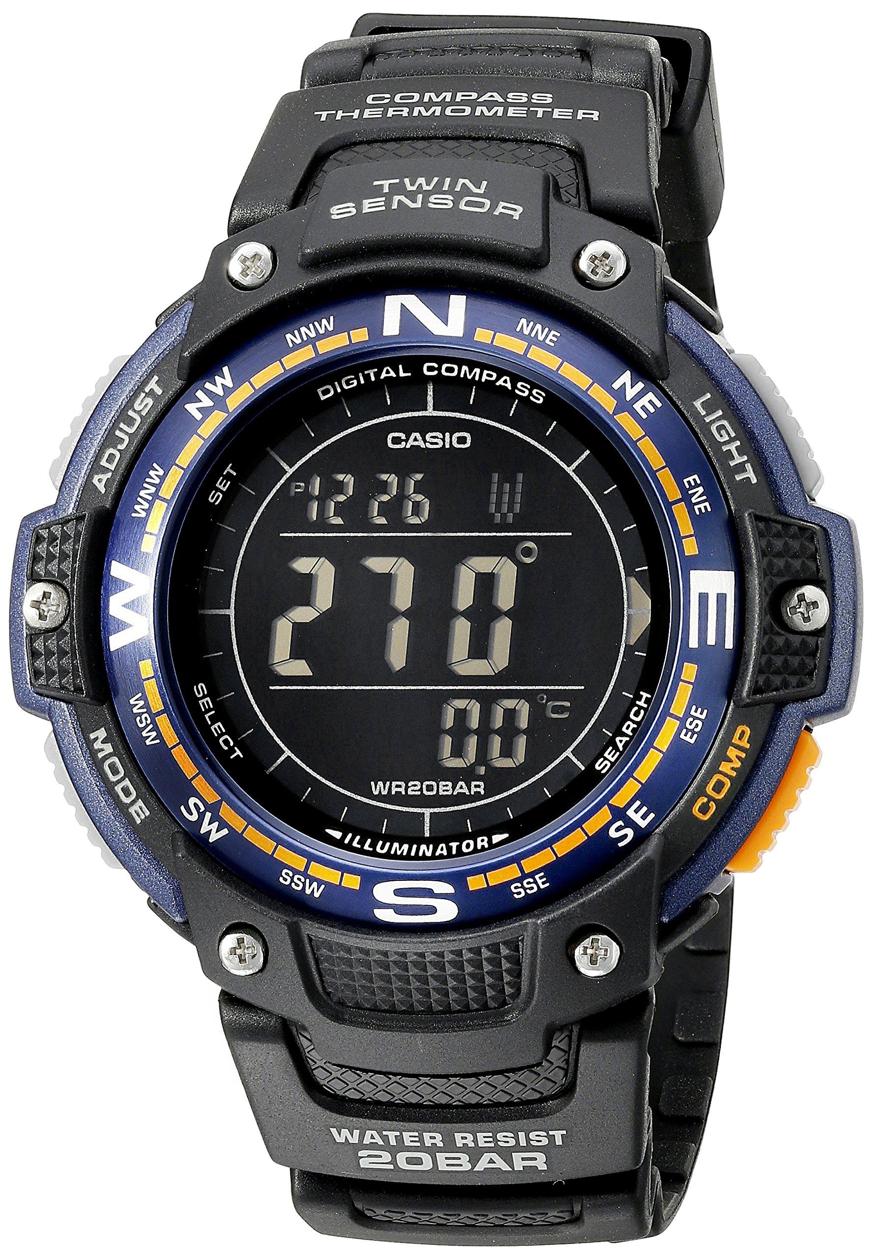 Casio Men's SGW-100-2BCF Twin Sensor Digital Display Quartz Black Watch by Casio (Image #1)