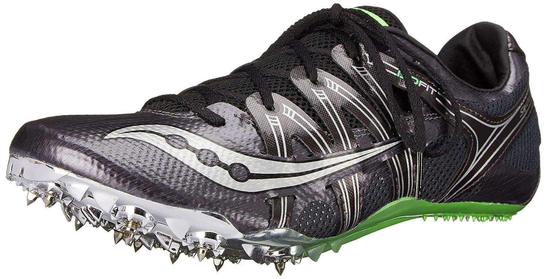 Saucony Men's Showdown Track Shoe Red/Citron 12 M US SHOWDOWN-M