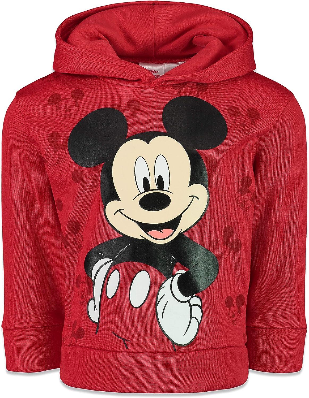 Disney Mickey Mouse Boys Athletic Fleece Pullover Hoodie