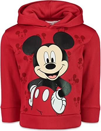 Mickey Mouse Sudadera con Capucha para ni/ño