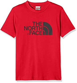 chaussures de sport 6af53 e48a4 The North Face et s/s Easy Tee Red/Black T-Shirt de Coupe ...