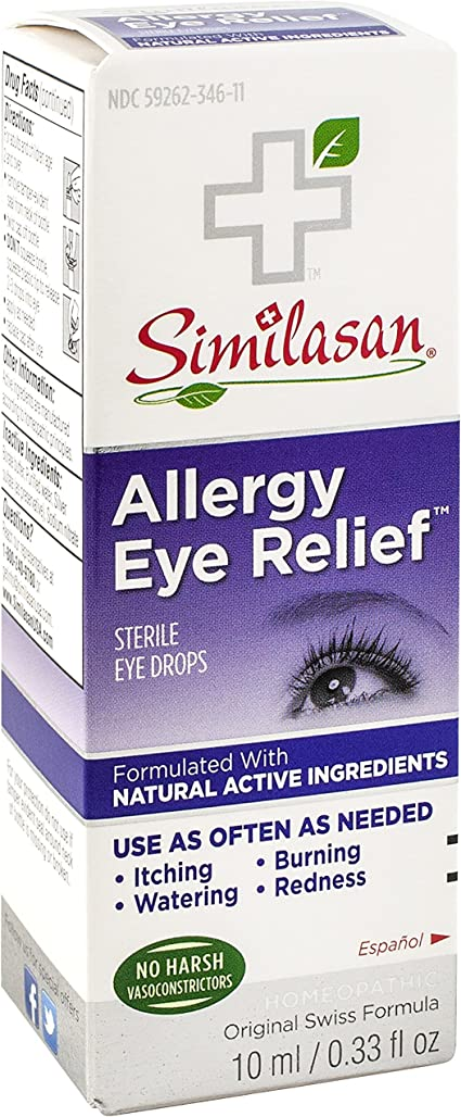 can you be allergic to eye drop