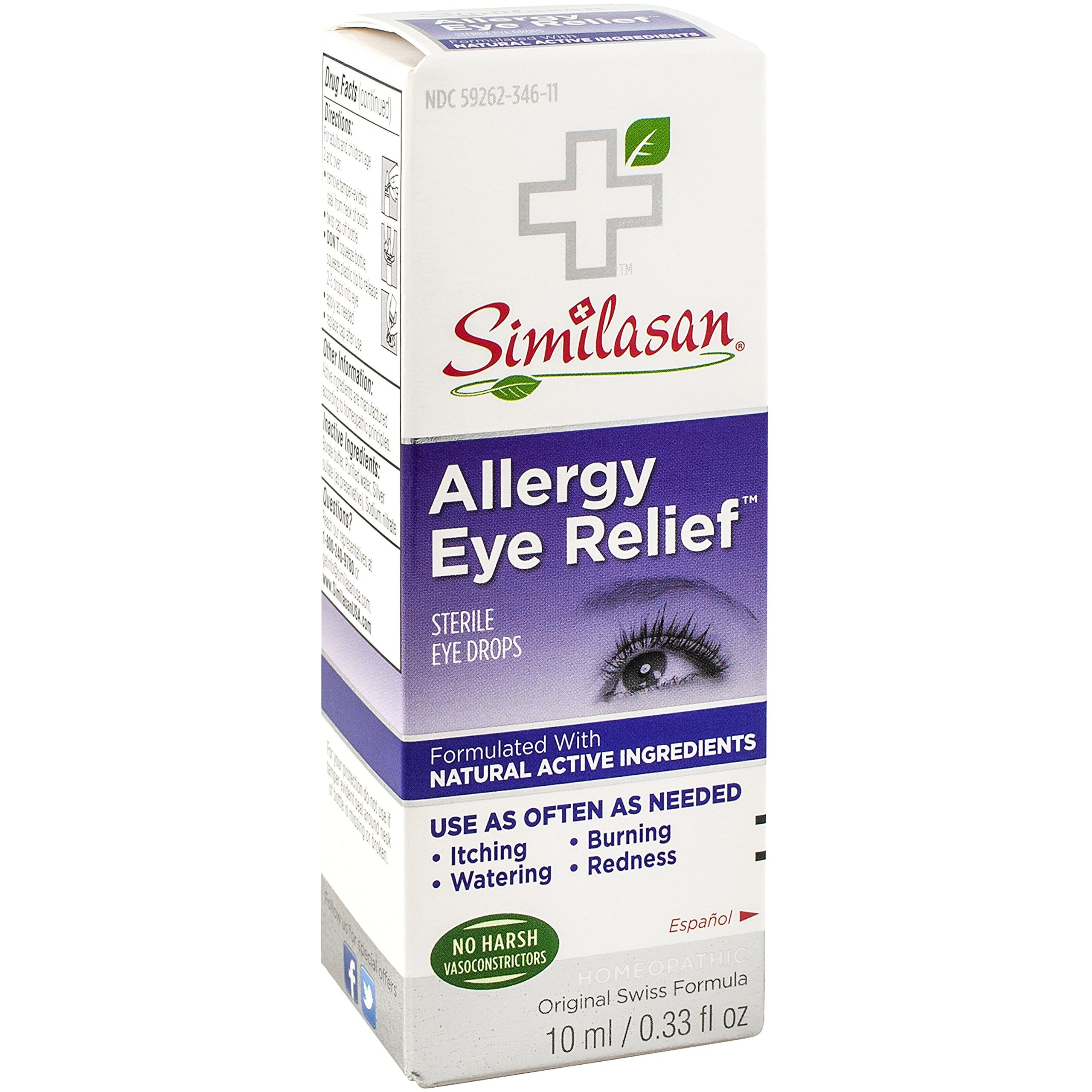 Eye drops for allergies: reviews. What eye drops are better for allergies? 33
