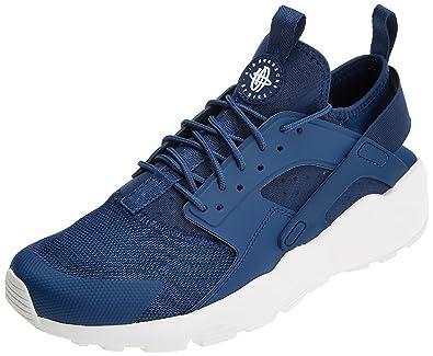 sports shoes 7300d c5eeb Nike Air Huarache Run Ultra, Baskets Homme, Blanc (Navy White 409)