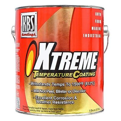 KBS Coatings 65528 Pure White Xtreme Temperature Coating - 1 Gallon: Automotive
