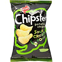 Twisties Chipster Sour Cream and Onion Potato Chips, 160g
