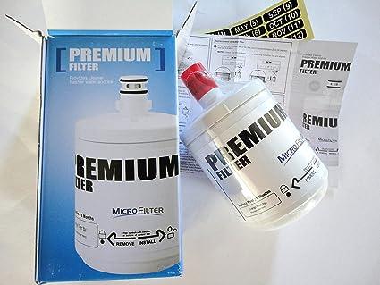 LG Premium - Filtro de agua para refrigerador interno LG GWP2123AC ...