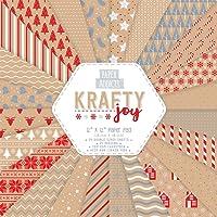 papierauflage Weihnachten Paper Addicts Krafty Joy 12x12