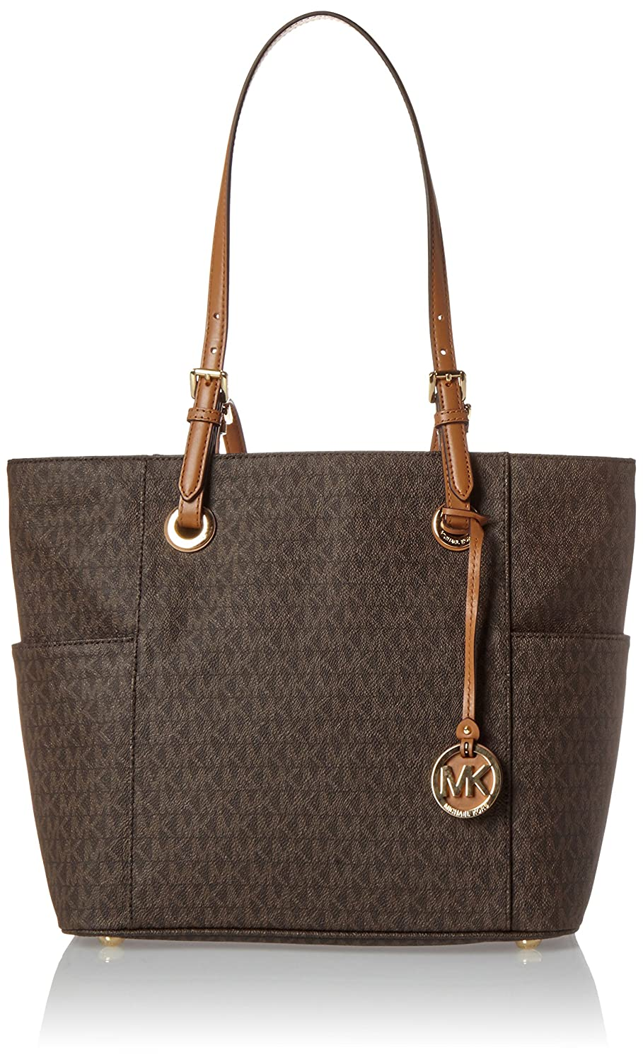 Michael Kors - Jet Set Item, Bolsos totes Mujer, Marrón (Brown), 13.3x27.3x39.4 cm (W x H L): Amazon.es: Zapatos y complementos