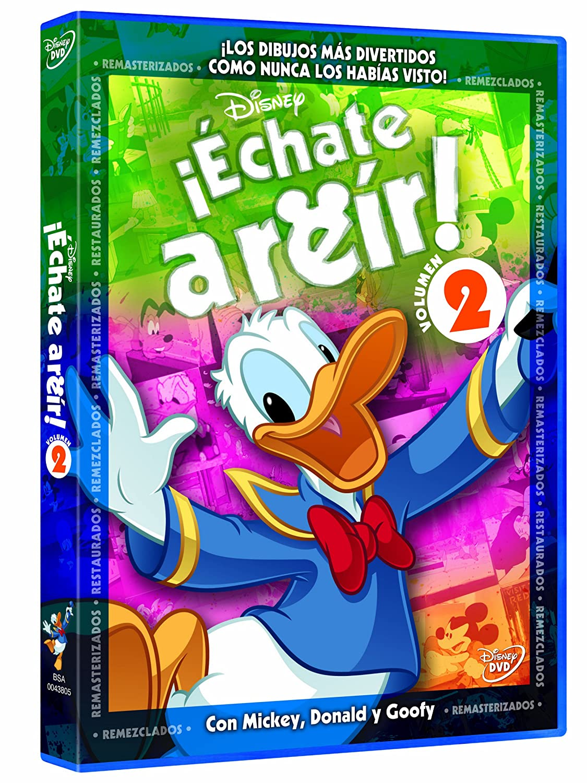Amazon.com: Disney Echate A Reir Con Mickey - Pat 2 (Import Movie) (European Format - Zone 2) (2011) Varios: Movies & TV
