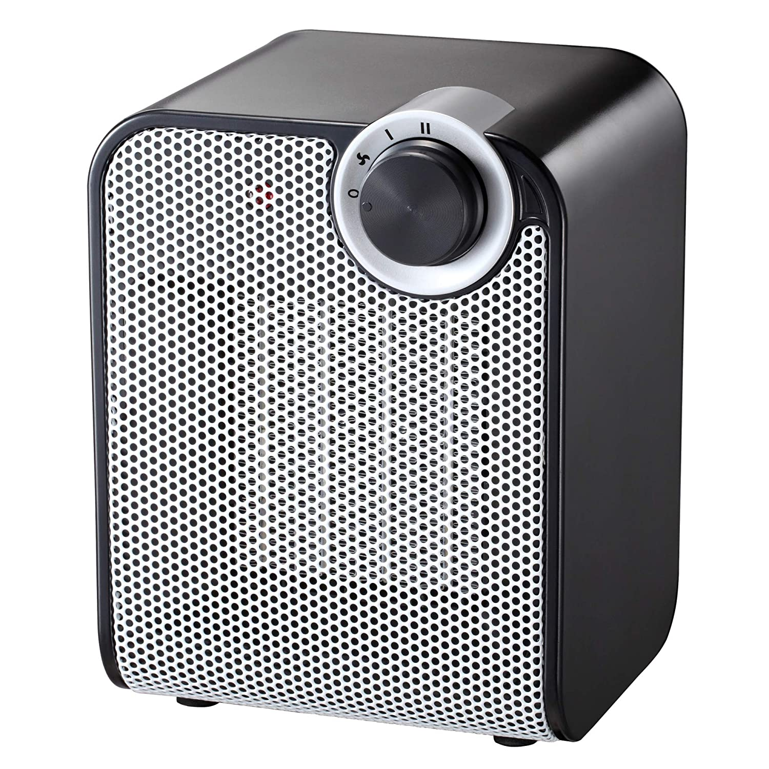 andily Space Heater Electric Heater for Home and Office Ceramic Small Heater with Thermostat, 750W/1500W A-750-1500