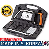 Original 15-in-1 Magic Universal Hand Saw Kit Toolbox Of Multi Blades Set Works As Hacksaw Coping Bow Jab Rip Pruning Chain Handsaws A Cutter Suitable To Cut Wood PVC Pipes Glass Water Bottles Tiles