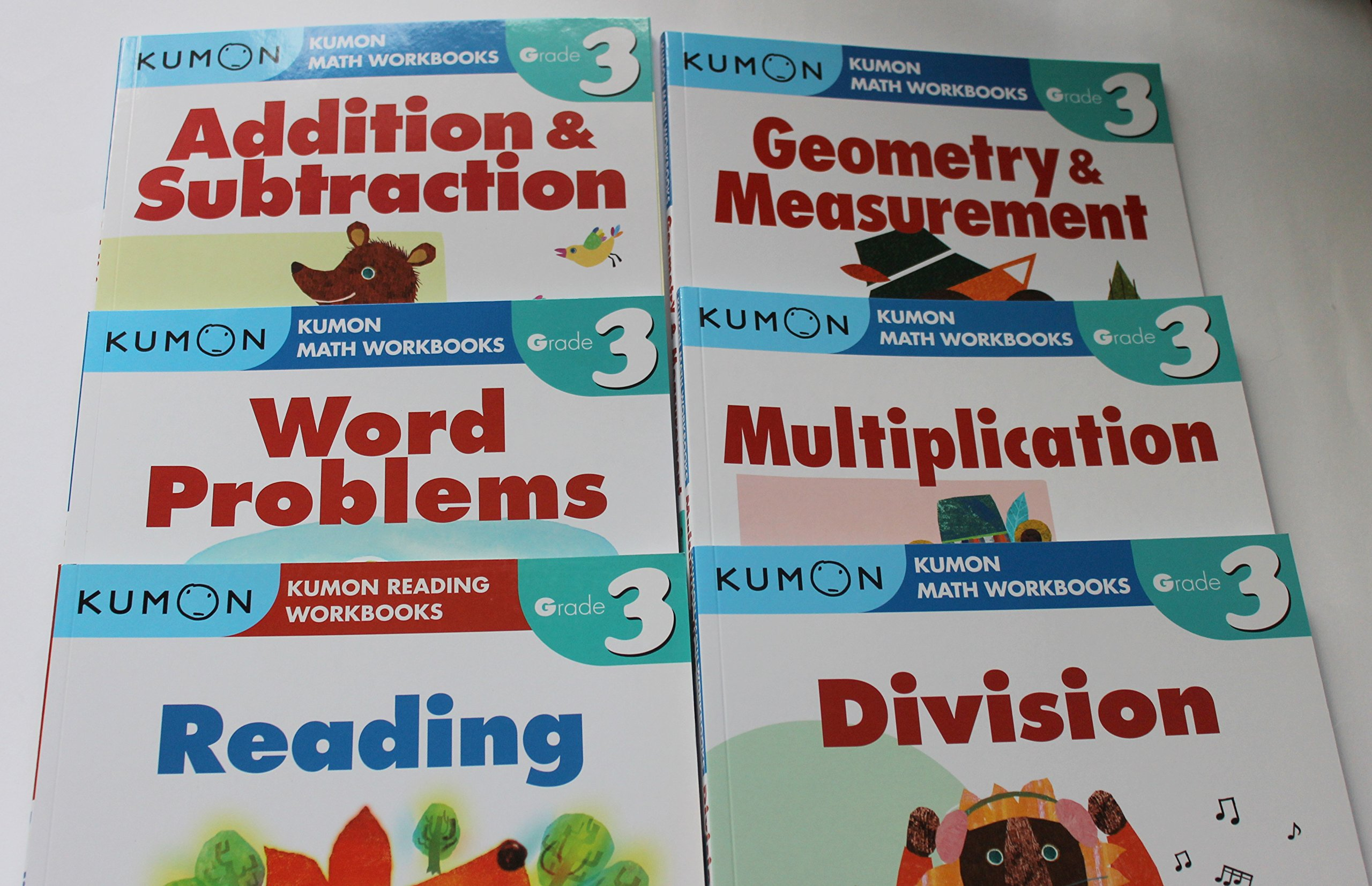 Kumon Grade 6 Math workbooks (3 books) - Fraction, Geometry ...