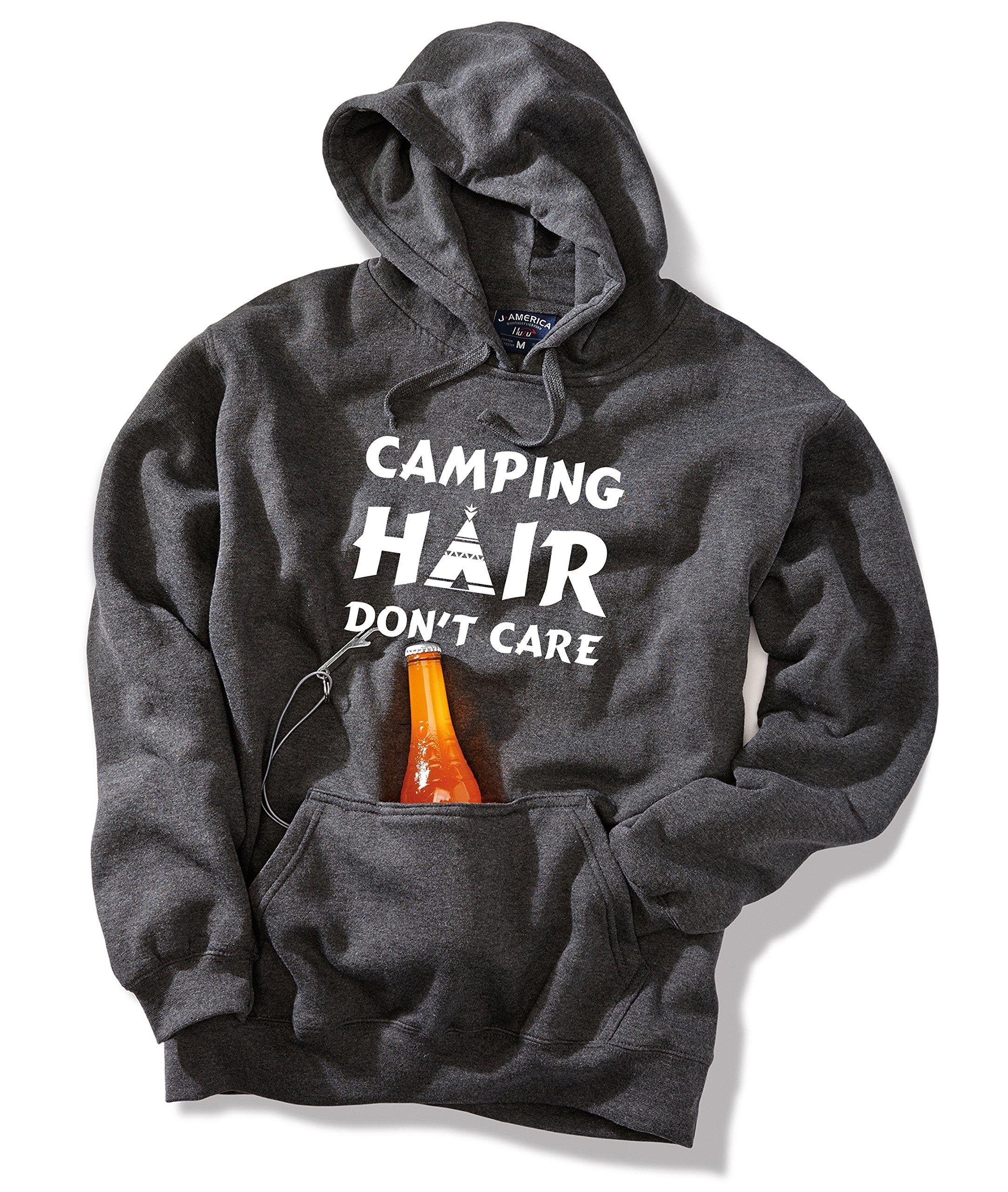 Camping Hair, Beer hoodie, Outdoors, Beer, Craft Beer, Gifts for Him, Hoodie, Custom hoodie, Camping gear