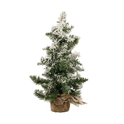 Árbol de Navidad artificial NEVADO - 43 Ramas - Altura 50 cm - Color ...