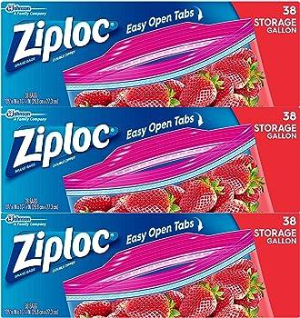 Ziploc Storage Bags on Sale at Amazon