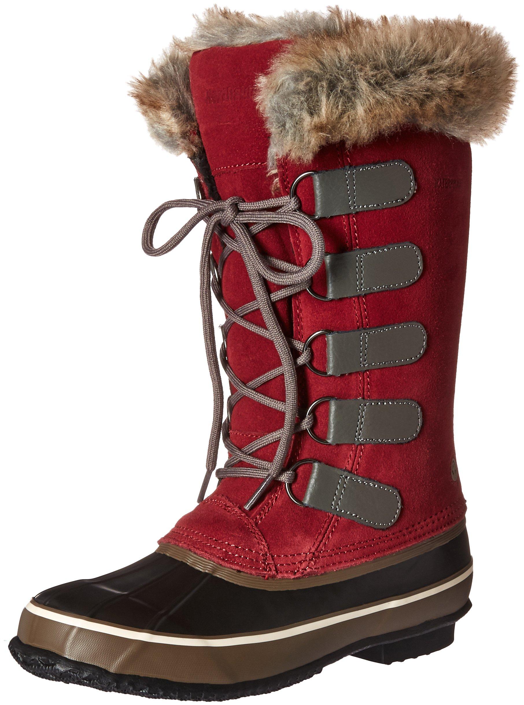 Northside Women's Kathmandu Snow Boot, Marsala Black, 7 M US