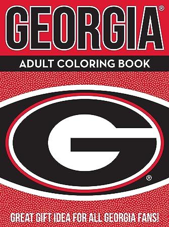 Amazoncom NCAA Georgia Bulldogs Unisex Adult Coloring Bookncaa