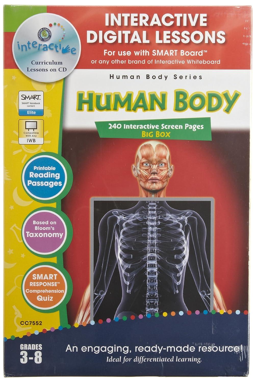 Pizarra blanca interactiva digital lecciones: cuerpo humano ...
