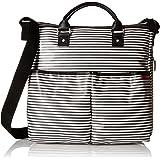Skip Hop Duo Special Edition Diaper Bag, Black Stripe, Black/White