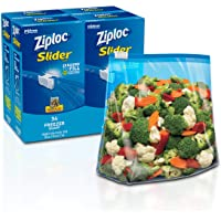 Ziploc Slider Freezer bags, 136Count