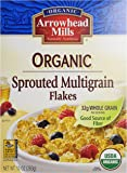 Arrowhead Mills Organic Sprouted Multigrain Flakes Cereal, 10 oz