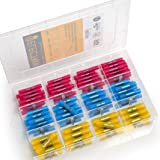 190 PCS Electrix Heat Shrink Butt Connectors Terminal Set Insulated Waterproof Marine Grade Automotive Terminals Electrical Crimp Connectors Boat Wire Terminals 14-16 AWG 18-22 AWG 10- 12 AWG