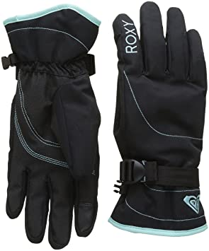 Roxy Jetty Solid, Women's Snowboard/Ski Gloves, women's, Jetty Solid, black