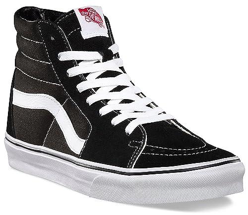 Vans Unisex SK8-Hi Black/Black/White