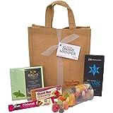Vegan Sweet Hamper Bag - Sweets, Treats & Chocolates - Great Vegan & Vegetarian Gift for Birthday, Christmas, Mother's Day, Easter etc!