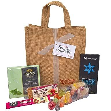 Vegan sweet hamper bag sweets treats chocolates great vegan vegan sweet hamper bag sweets treats chocolates great vegan vegetarian gift negle Images