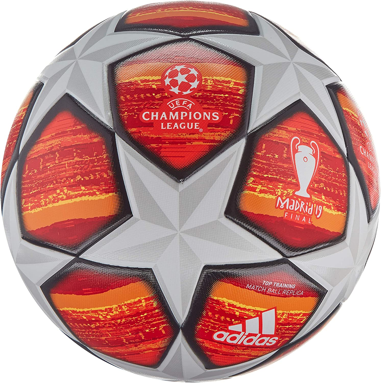 Creo que estoy enfermo formación Crítico  Amazon.com : adidas UCL Finale Madrid Soccer Ball White/Active  Red/Scarlet/Solar Red Bottom: Bright Orange/Sol : Sports & Outdoors
