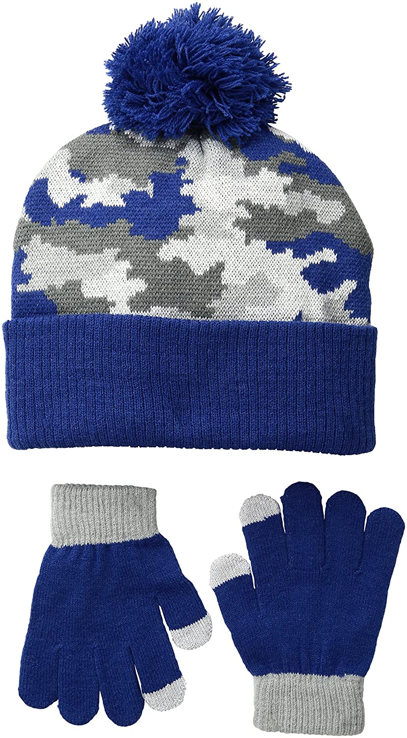 iXtreme Boys' Camo Hat Glove 2 Pc Set 72047