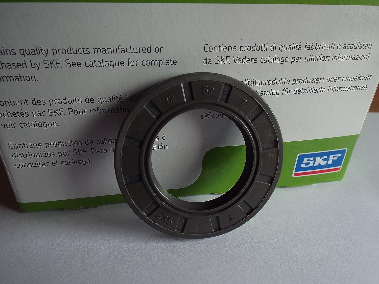 32 x 52 x 7 mm SKF reté n de aceite R23/TC doble labio Lancashire Seals