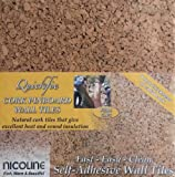 Quickfix 30x30cm Cork Pin-Board Tiles Pk4