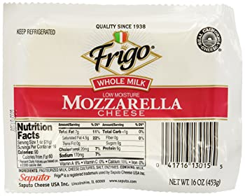 Frigo Whole Milk Mozzarella Cheese