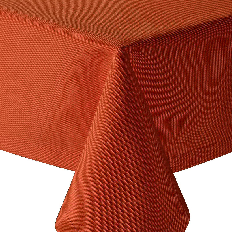 Tafeldecke Tafeldecke Tafeldecke Brilliant Leinenoptik Eckig 160x360 cm Champagner Creme - Farbe & Größe wählbar mit Fleckschutz - (E160x360CH) B079X4TCBN Tischdecken af7fbe
