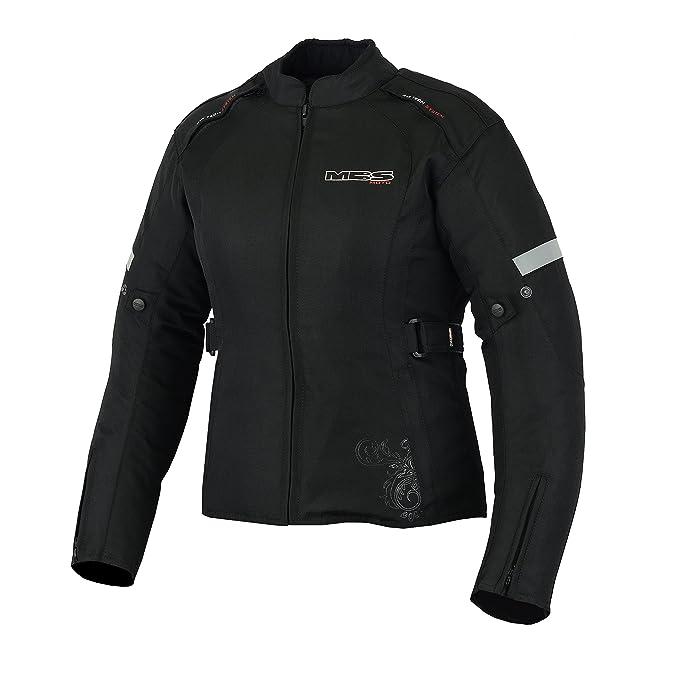 Imperm/éable et coupe-vent Veste de moto MBSmoto MJ-24 pour femme