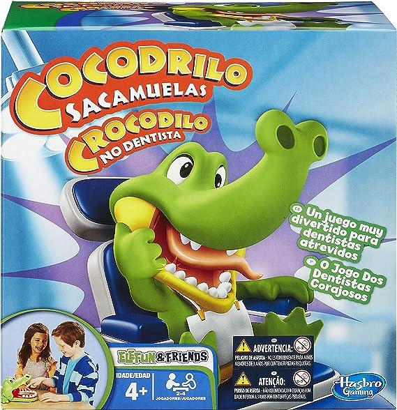 Hasbro - Cocodrilo sacamuelas, Juego de Habilidad (B04081750 ...