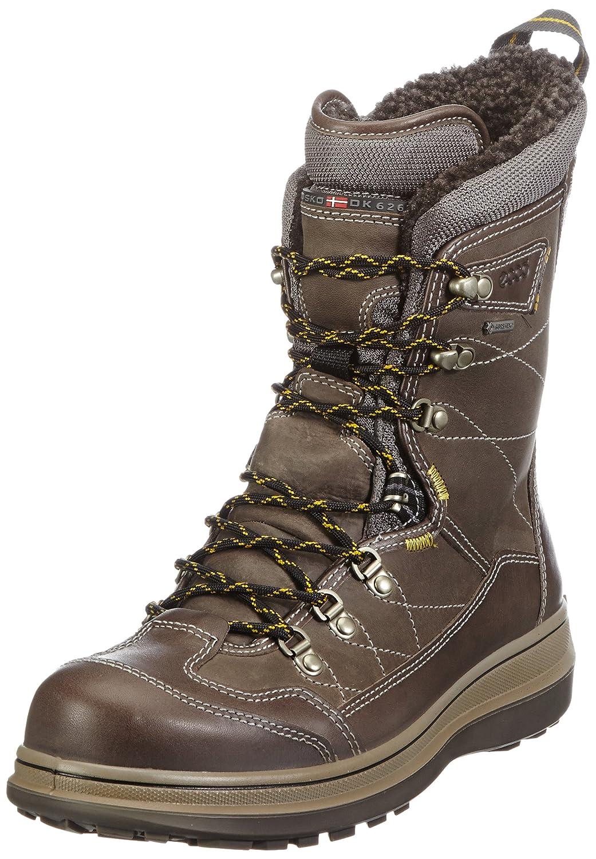 Ecco Roxton WO/F/Te 532044 Herren Stiefel Grau Dark Clay/Warm Grey/Titanium