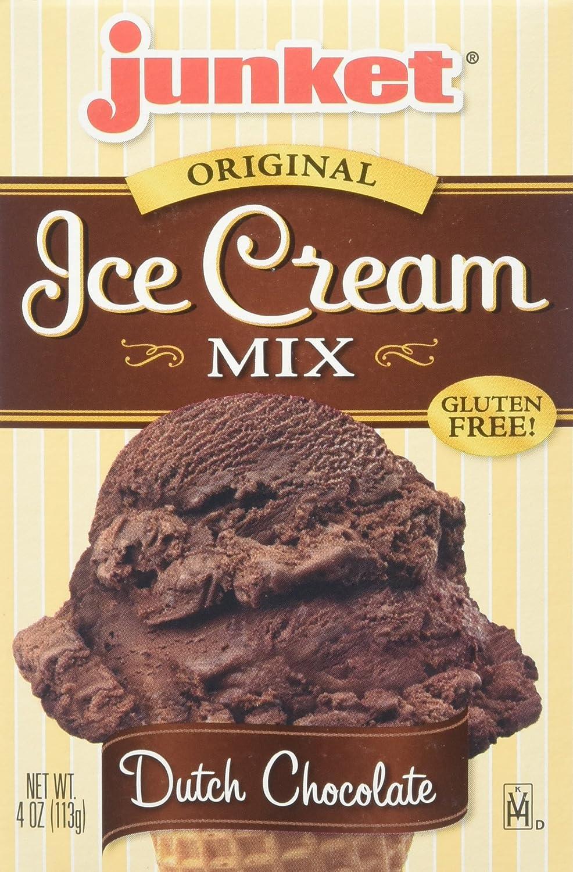 Amazon.com : Junket Ice Cream Mix Dutch Chocolate, 4-Ounce (Pack ...