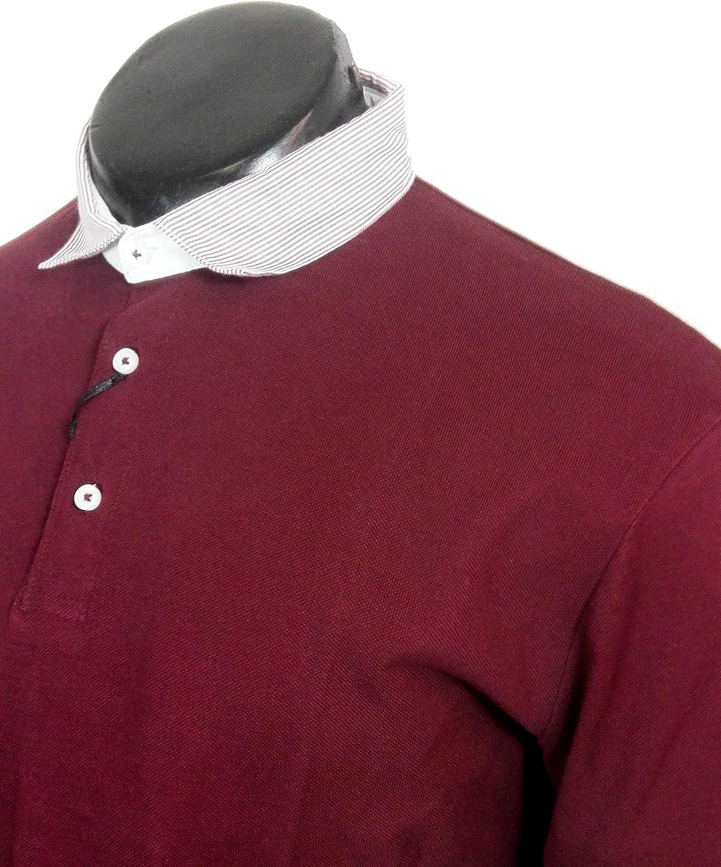Zara Polo - Para Hombre Rojo Rosso M: Amazon.es: Ropa y accesorios