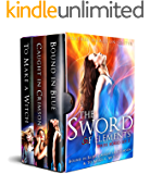 Sword of Elements Series Boxed Set 2: Bound In Blue, Caught In Crimson & To Make A Witch