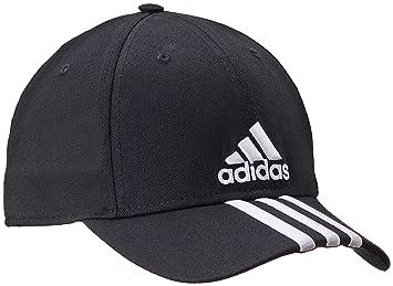 4f23d93a6 Adidas Men's Training Performance 3-Stripes Cap, Black, Exercise ...
