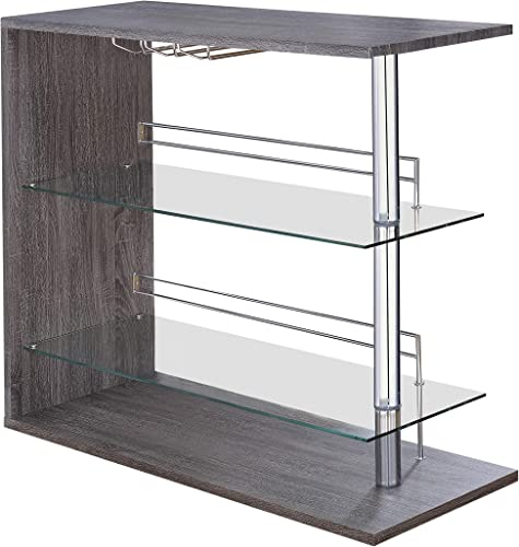 Coaster Home Furnishings Coaster Contemporary Rectangular Bar Unit
