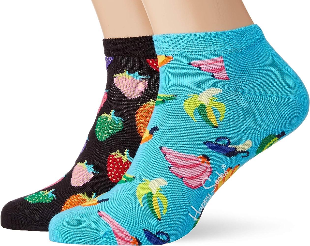 Pack Banana \u0026 Strawberry Trainer Socks