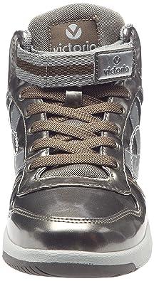 Victoria Sneaker Charol Pu - Zapatillas de Deporte de material sintético Mujer 81P3luG