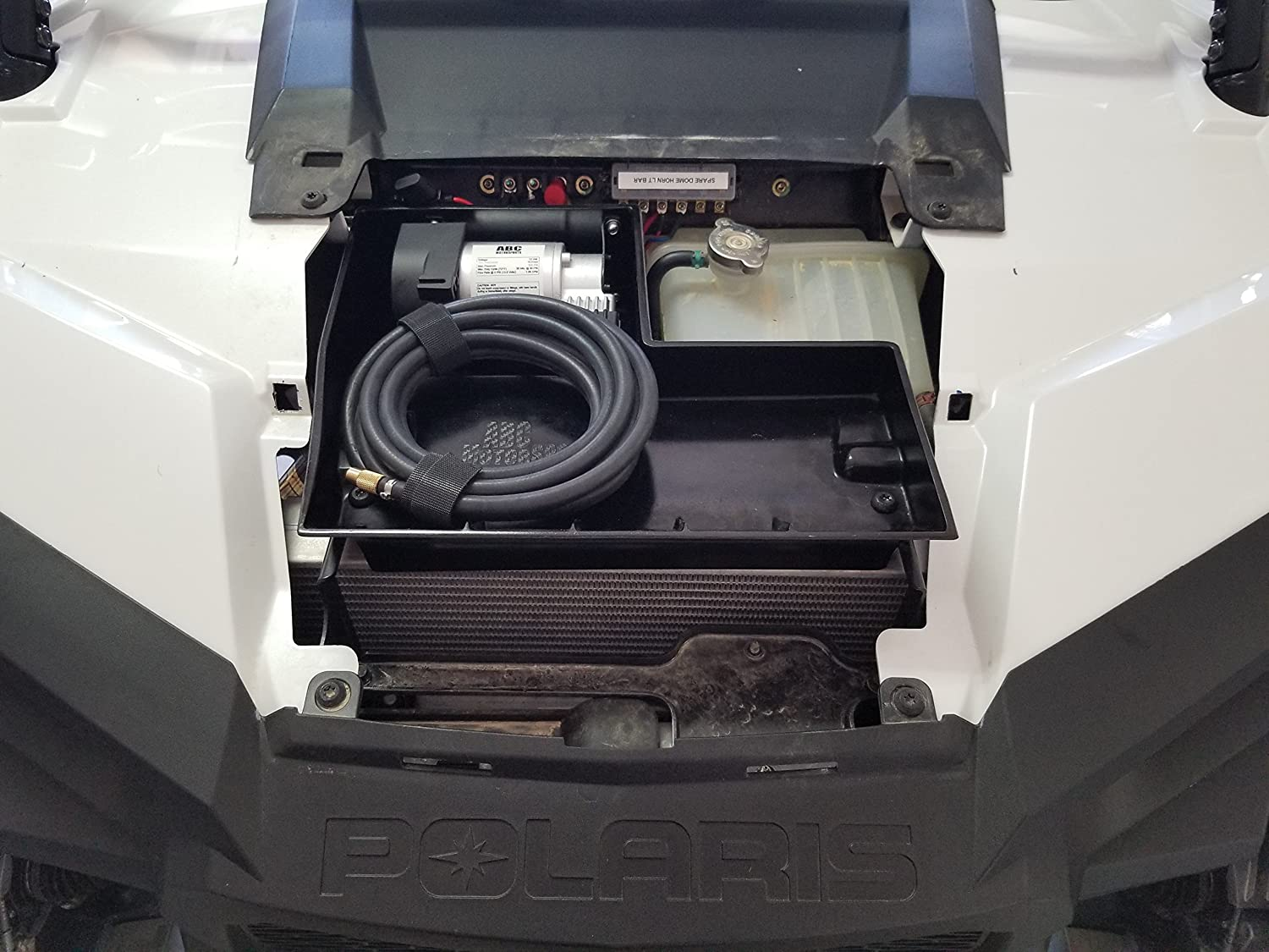 Amazon.com: On Board Air System Polaris RZR-1000 Turbo & Turbo S Air Compressor And Storage Free Gift: Automotive