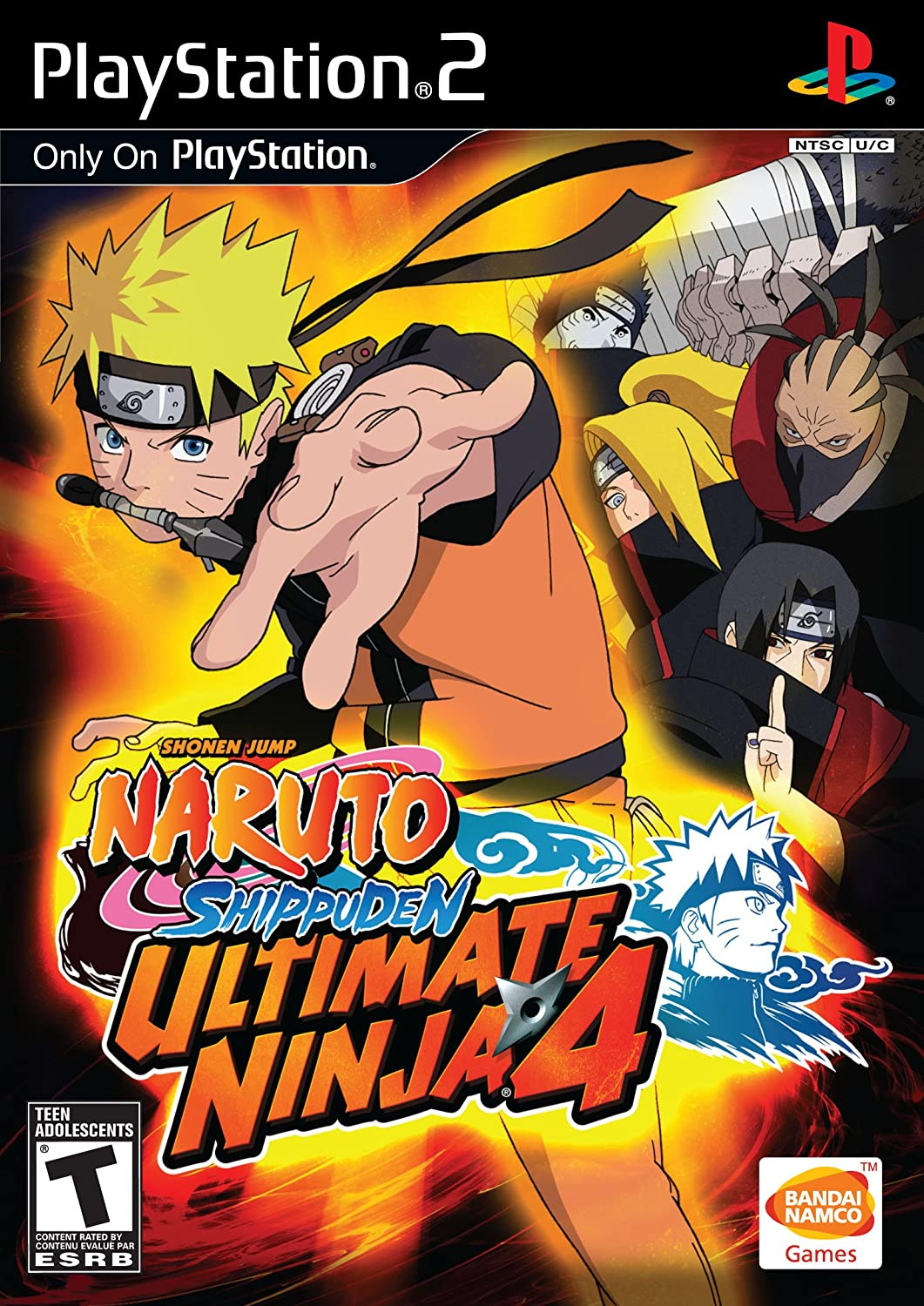Ultimate Ninja 4: Naruto Shippuden - PlayStation 2