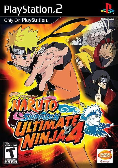 Amazon.com: Ultimate Ninja 4: Naruto Shippuden - PlayStation ...